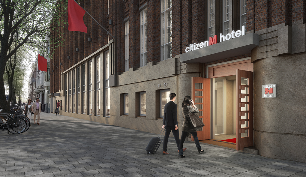 Opening citizenM Amstel Amsterdam Hotel