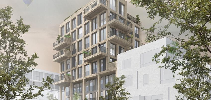 Appartementen Hooghout, Amsterdam